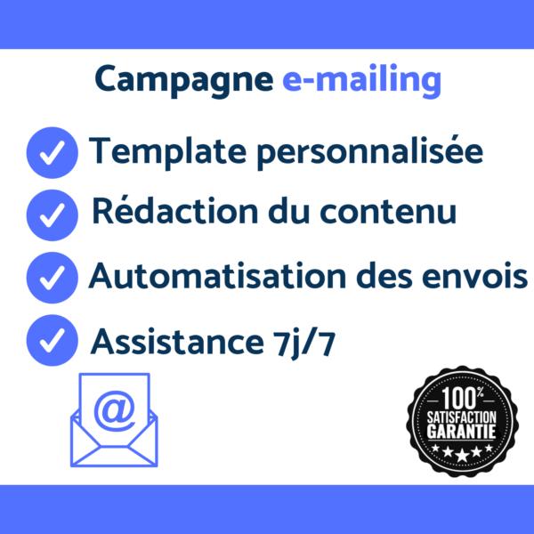 création et gestion de campagne e-mailling
