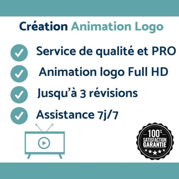Création d'animation logo pas cher