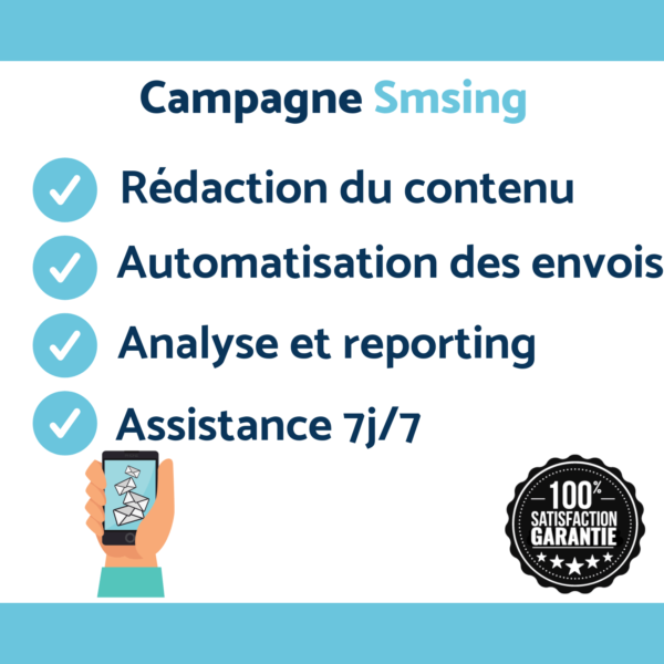 création de campagne smsing