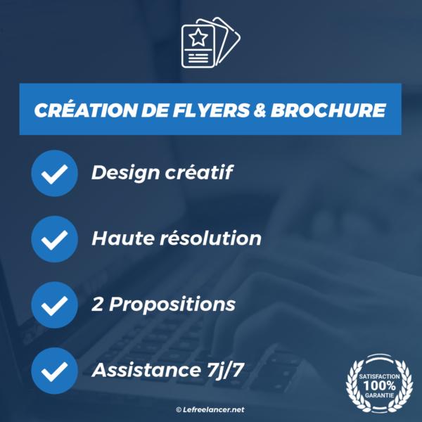 creation flyer et brochure