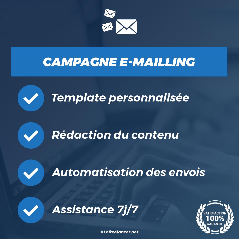 Campagne E-mailing Clé En Main