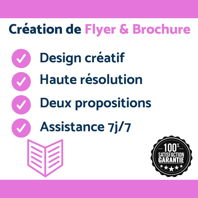 Création De Flyer & Brochure Sur-mesure
