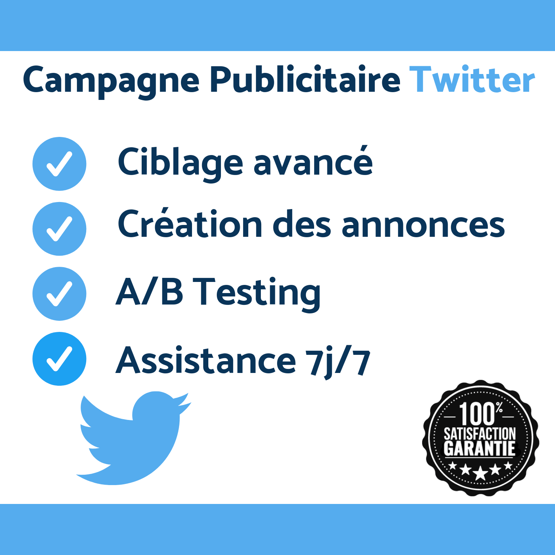 Création Et Gestion De Campagne Twitter Ads