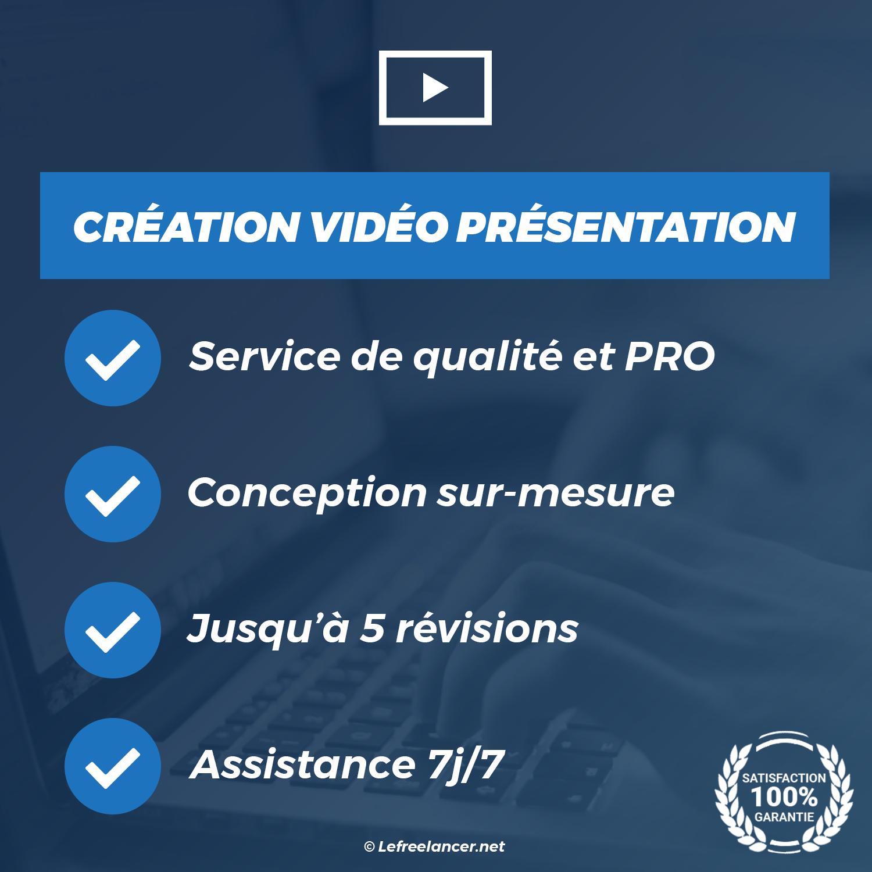 Création D'une Vidéo De Présentation