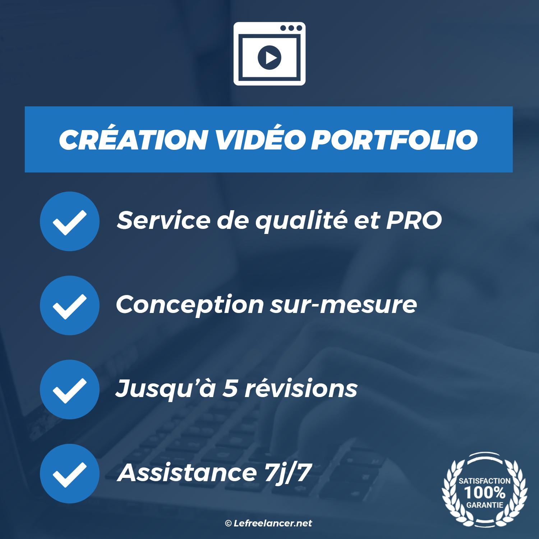 Création D'une Vidéo Portfolio