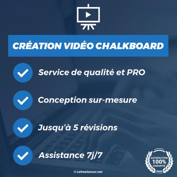 creation video chalkboard