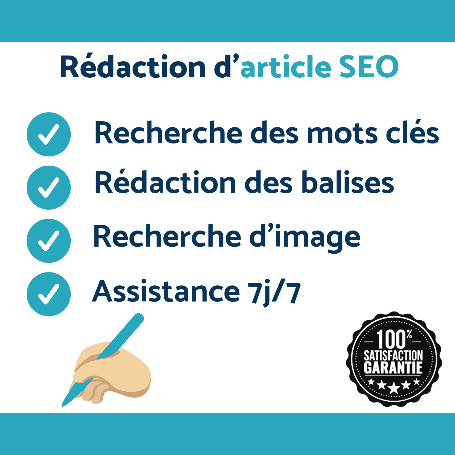 Rédaction D'article Optimisé SEO