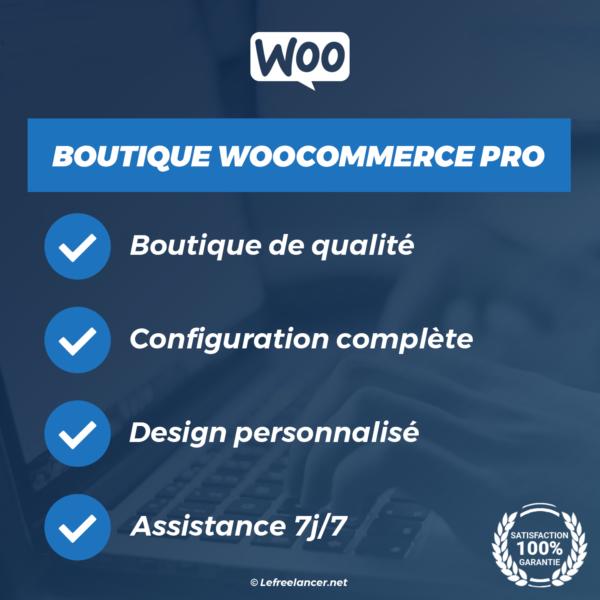 creation boutique ecommerce woocommerce clé en main